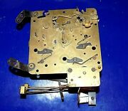 Vintage Welby Div. Elgin 71 Clock Movement 2 Jewel As-is For Parts Or Repair