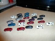 N Scale Automobiles Lot Of 23 Pcs. Fill In Cars Lot 2
