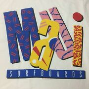 Vintage 90and039s Maui Crazy Shirts Hawaii Surfboards Spell Out Size Medium