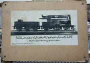 Egyptian Vintage Photographer. A Passenger Locomotive Installed With A Water Hea