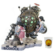Bioshock Big Daddy Limited Statue - Bouncer + Little Sister Num /400 Resin 14