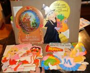 Lot Of 4 Vintage Miss Piggy Hallmark Wall Decorations Holiday And Other