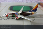 Gemini Jets Southwest Airlines Boeing 737-700 Illinois One Diecast Model 1200