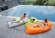 New Banana Inflatable Sofa Lazy Bag Blow Up Couch Camping Lounge Chair Air Sofa