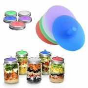 86mm Silicone Waterless Airlock Fermentation Lid Metal Ring Wide Mouth Mason Jar