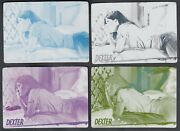 Dexter Season 7 And 8 Breygent Printing Plate Set Base Card 39 All 4 Colors