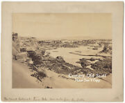 Ca. 1880-1890 Mounted Photo 2nd Cataract Of The Nile River Nubia Sudan Africa