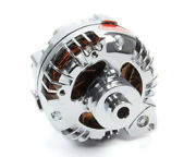 Chrome Mopar 75amp Alter Double Groove Pulley Powermaster 175091 1 Wire
