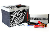 Xs Power Battery 16volt Lithium Battery And Charger Combo Kit