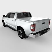 Undercover Uc4116l 1d6 14 17 Tundra Std/double Cab 5.5ft Lux Cover Silver Sky W