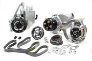 Serpentine Drive Kit Sbc Crate W/ P/s W/p And Alt Jones Racing Products 1441-ar-ce