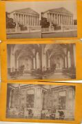 Lot Of 6 Vtg Stereoview Stereograph Cards -
