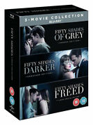 Fifty Shades Christian Grey Trilogy [blu-ray Box Set] Complete 3-movie 1 2 3 New
