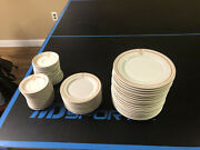 57 Vintage Fort Schuyler Club Utica Ny Dinner Bread Butter Plates Syracuse China