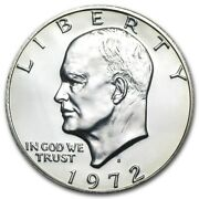 Roll 20 1972 S Proof Ike Eisenhower Dollar 40 Silver Avg Unc Condition