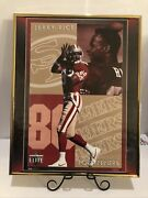 """San Francisco 49ers Jerry Rice Sports Elite Collection Poster 20""""x16.5"""" Approx"""