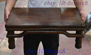 24 Old Chinese Folk Huanghuali Wood Handcrafted Tea Ceremony Tea Table Statue
