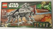 Lego Star Wars 75019 At-te Walker The Clone Wars 5 Minifigures New Sealed