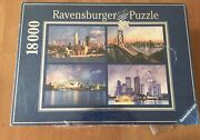 Rare Ravensburger Skylines Of The World - 18000 Piece Puzzle Sealed