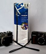 Genuine Olympus Wrist Strap, For Compact Digital Or Film Cameras Navy New