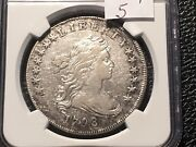 1799 Bust Dollar Wide Date Rarity 5 Ngc Vf Details Rare Not On The Market Often