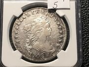 1798 Bust Dollar Wide Date Rarity 5 Ngc Vf Details Rare Not On The Market Often