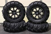 Can Am Renegade 500 27 Mud Lite Ii And 14 Sti Hd4 Atv Tire And Wheel Kit Can1ca
