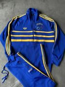 Adidas Jersey Set Up Brasil Olympic Model 70and039s Vintage Size Xl Unused Dead Stock