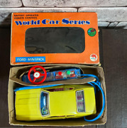 Tin Toys In Japan Ford Maverick Handle Remote Control Made In Japan Shinsei M