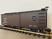 Bachmann 93324 Colorado And Southern Cands Boxcar W/ Metal Wheels G Scale