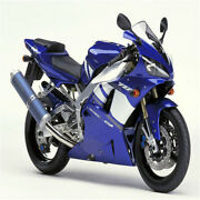 Ms Blue White Injection Molding New Fairing Fit For Yamaha 2000 2001 Yzf R1 H013