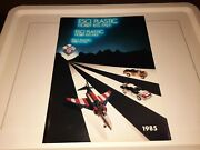 Vintage 1985 Esci Plastic Italy Model Hobby Kit Catalog Collection Planes Cars