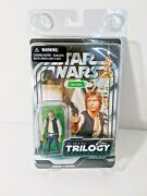 New Unpunched Star Wars Original Trilogy Collection Han Solo Action Figure E