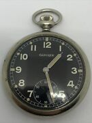 Vintage Glycine F283 Military Pocket Watches Swiss Made For The German Army