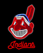 New Cleveland Indians Chief Wahoo Lamp Neon Sign 24 With Hd Vivid Printing