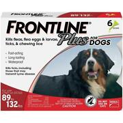 Frontline Plus For Extra Large Dogs 89-132 Lbs - 6 Dose - New And Free Shipping