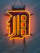 New Detroit Tigers Beer Bar Pub Light Lamp Neon Sign 20 With Hd Vivid Printing