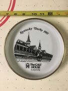 1985 Kentucky Derby Ashtray Dish From The Galt House Hotel Downtown Louisville
