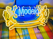 New Cerveza Modelo Especial Light Neon Sign 24x20 With Hd Vivid Printing