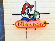 New Nintendo Authorized Repair Center Lamp Neon Sign 24 With Hd Vivid Printing