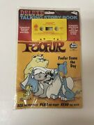 Foofur Deluxe Talking Story Book Sealed New
