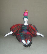 Poupee Millet Doll - Woman With Parrot On Head