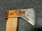 Vintage Norlund Hudson Bay Boys Camp Axe- Tomahawk- Scary Sharp- Will Shave