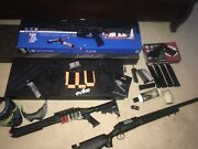Air Soft Complete Lot Arp 556 Gas Powered Shotgun And Pistol Etc.....