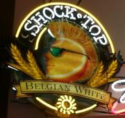 New Shock Top Belgian White Beer Light Lamp Neon Sign 24 With Hd Vivid Printing