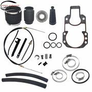 Transom Seal Bellow Kit With Lower Shift Cable For Mercruiser Alpha One Gen 1