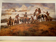 Howard Terpning The Ploy Signed Limited Edition Print