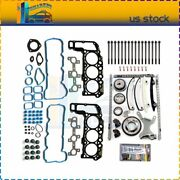 Head Bolts Gasket Set Timing Chain Kit For 2005-2009 Dodge Ram 1500 Liberty 3.7l