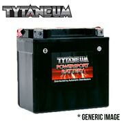 Tytaneum Maintenance Free Battery For Kymco Mxu300sd All With Acid Pack