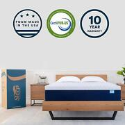 Sleep Innovations Shiloh 14-inch Memory Foam Mattress Bed In A Box Made In The